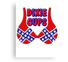 DIXIE CUPS Canvas Print