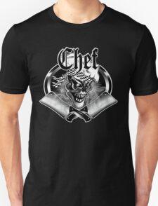 Chef Skull and Crossed Smoking Cleavers 5 Unisex T-Shirt