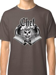 Chef Skull and Smoking Cleavers 2 Classic T-Shirt