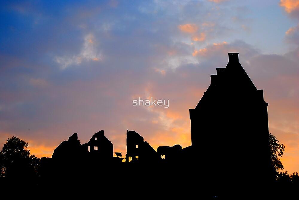 Chateau Sunset by shakey