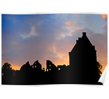 Chateau Sunset Poster