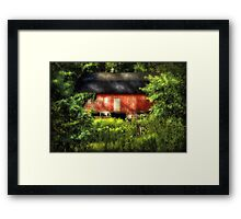 Leave Our Farms Framed Print