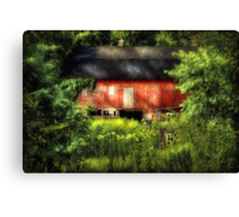 Leave Our Farms Canvas Print
