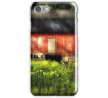 Leave Our Farms iPhone Case/Skin