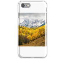 Fall in San Juan Mountains iPhone Case/Skin