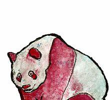 Grunge Panda by Glen A. Lewis