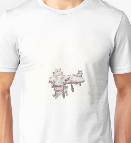 Smoking Cats Unisex T-Shirt