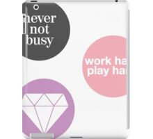boss lady (set of 3 stickers) iPad Case/Skin