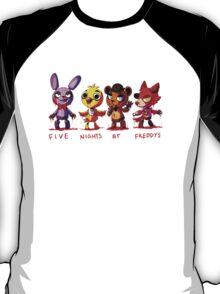 Five Nights At Freddys Animatronics T-Shirt
