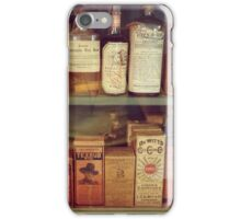 Antique Medical Bottles iPhone Case/Skin