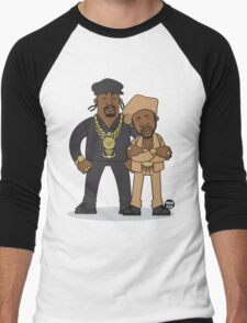 Evolution Of The B-Boy – Eric B & Rakim Men's Baseball ¾ T-Shirt