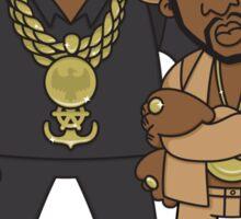 Evolution Of The B-Boy – Eric B & Rakim Sticker