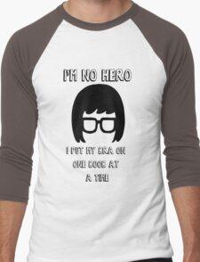 Tina Belcher Bobs Burgers Men's Baseball ¾ T-Shirt