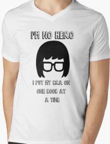 Tina Belcher Bobs Burgers Mens V-Neck T-Shirt
