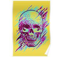 Bright Skull Poster