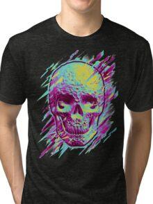 Bright Skull Tri-blend T-Shirt