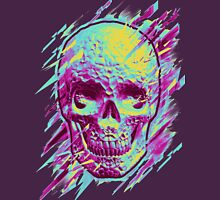 Bright Skull Womens Fitted T-Shirt
