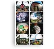 Lomo snaps Canvas Print
