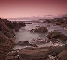 Sugarloaf Roc, Yallingup - Wispy Ocean by Scott G Trenorden