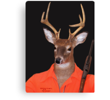 Deer Hunter Canvas Print