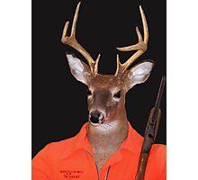 Deer Hunter Photographic Print