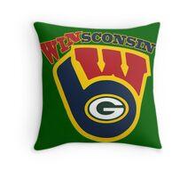WinSconsin 2.0 Throw Pillow