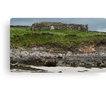 St Connell's Monastery Inishkeel Canvas Print