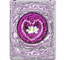 LOVE Flowers Floating into a Heart iPad Case/Skin
