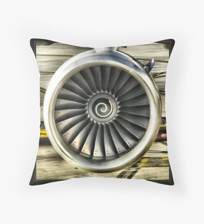 Jet Throw Pillow