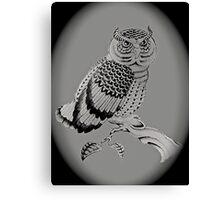 The Chubby Owl Canvas Print