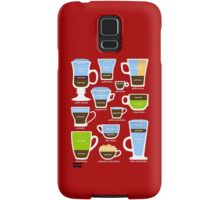 Espresso Coffee Drinks Guide Samsung Galaxy Case/Skin