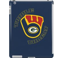 WinSconsin Triple Threat iPad Case/Skin
