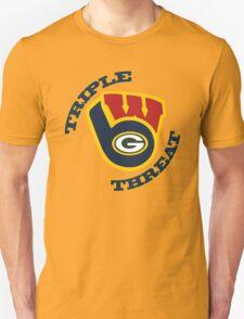 WinSconsin Triple Threat Unisex T-Shirt