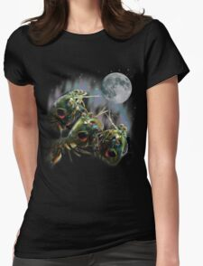 Mantis Shrimps Howling at the Full Moon Womens Fitted T-Shirt