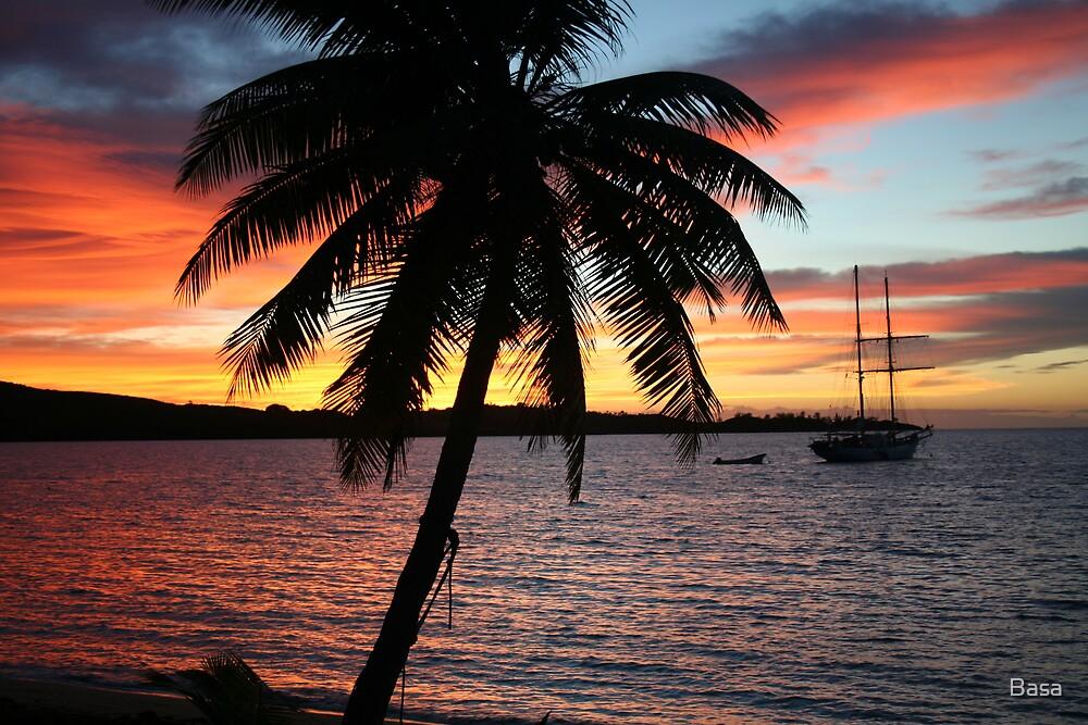 Fiji Island Sunrise 2 by Basa