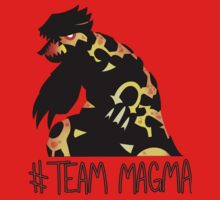 Pokemon / Team Magma Tee by ZeonAce
