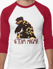 Pokemon / Team Magma Tee Men's Baseball ¾ T-Shirt