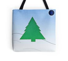 Wintery Scene Tote Bag