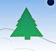 Wintery Scene by bunhuggerdesign