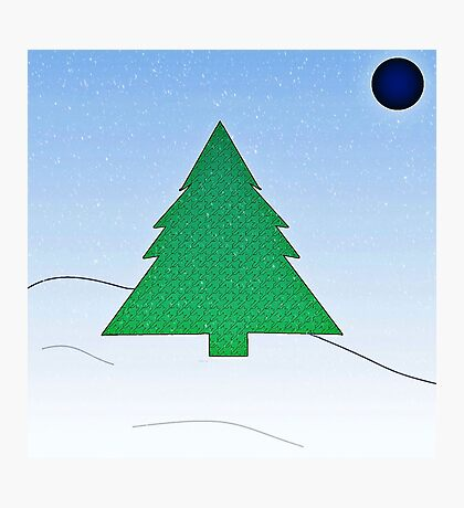 Wintery Scene Photographic Print