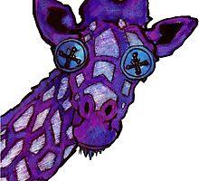 Giraffe-a-licious by Glen A. Lewis