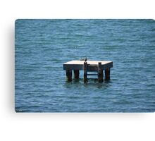 Geelong Bay Photo Canvas Print