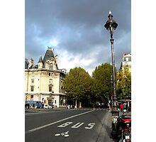 Rue Nuageux Photographic Print
