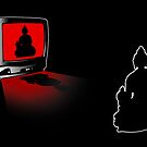 Idiot Box, False Idol or just Absurd? (Techno Buddha vs Idol TV) by nofrillsart
