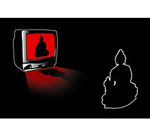 Idiot Box, False Idol or just Absurd? (Techno Buddha vs Idol TV) Photographic Print