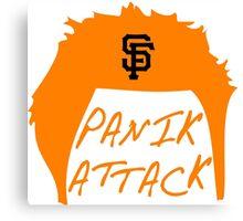 Panik Attack Canvas Print