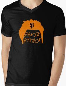 Panik Attack Mens V-Neck T-Shirt