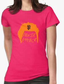 Panik Attack Womens Fitted T-Shirt