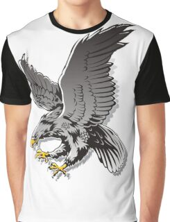 Flying Eagle Graphic T-Shirt