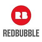 Back logo.  by Redbubble